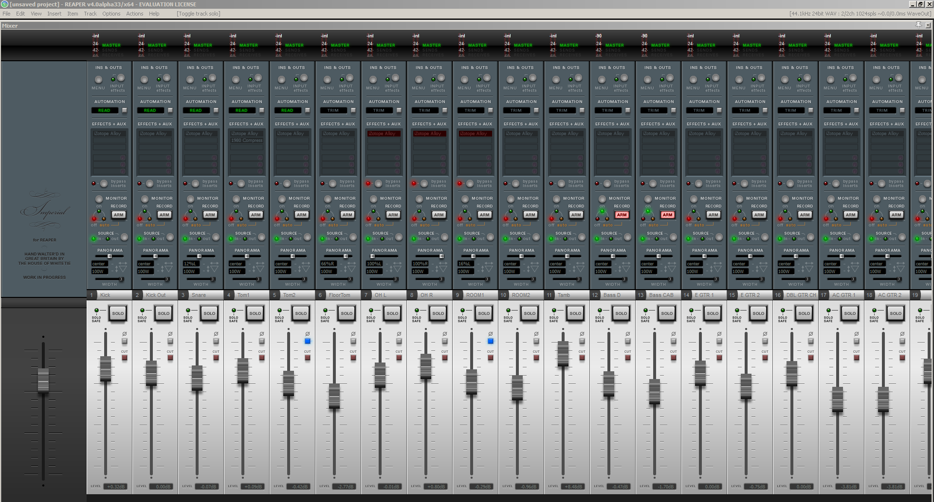 Tape Op | REAPER's new WALTER template/theme engine